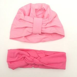 Other - Infant Toddler Head band turban Set